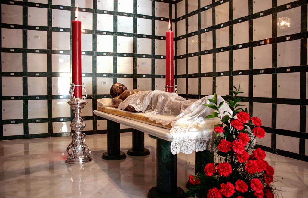 Cripta de los columbarios