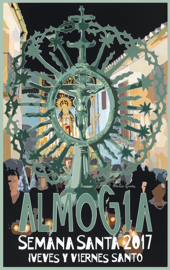 Cartel Semana Santa Almogia 2017