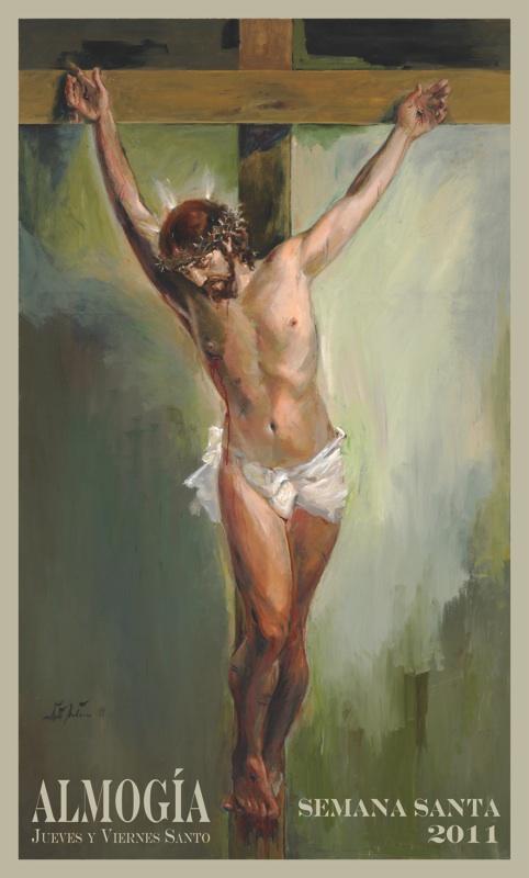 Cartel Semana Santa Almogía 2011