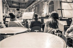 """Grabación CD """"La Banda Verde"""". Banda de Música"""
