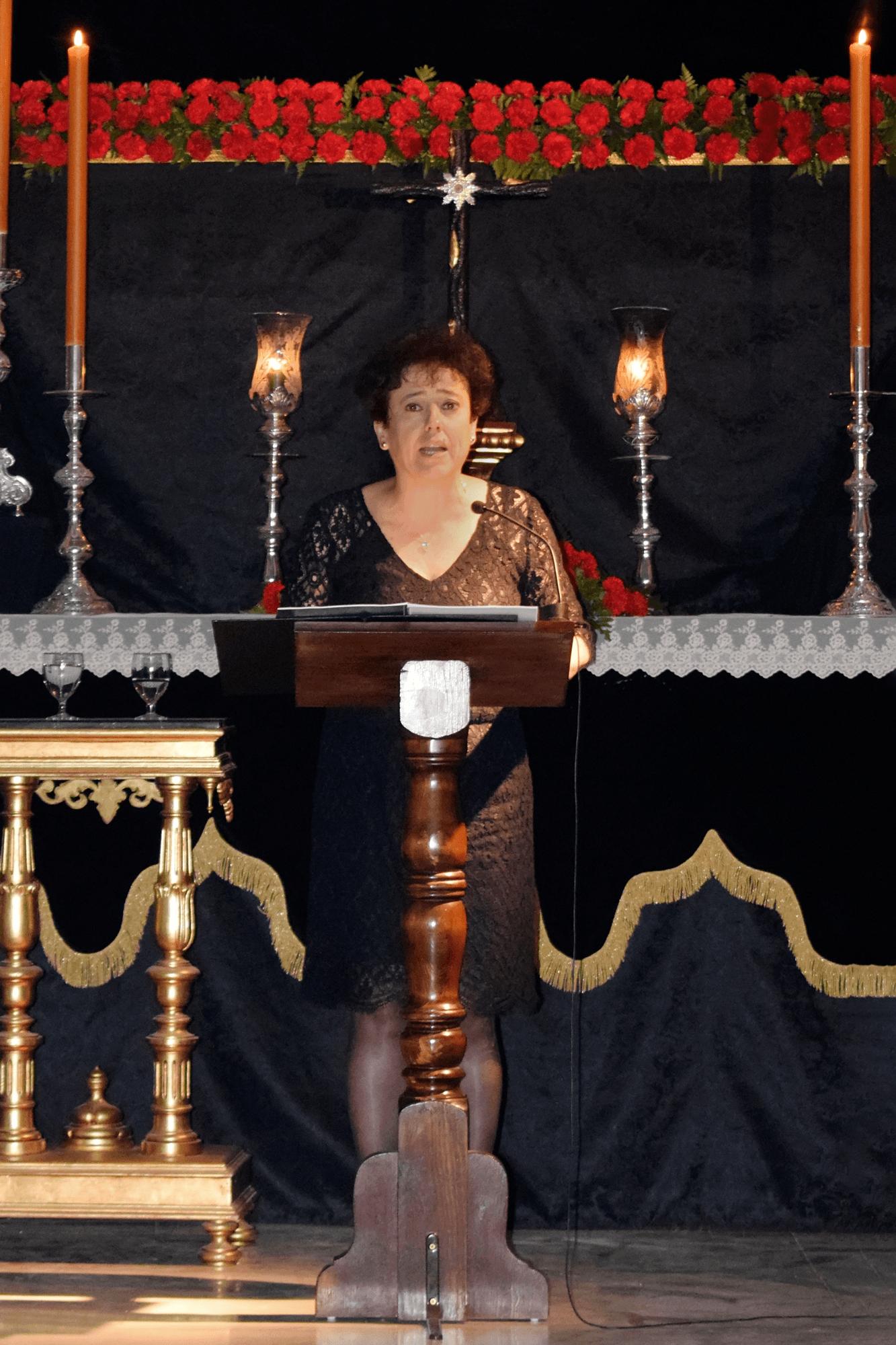 Pregón XXXIII (2017). Dª María del Carmen Ledesma Albarrán