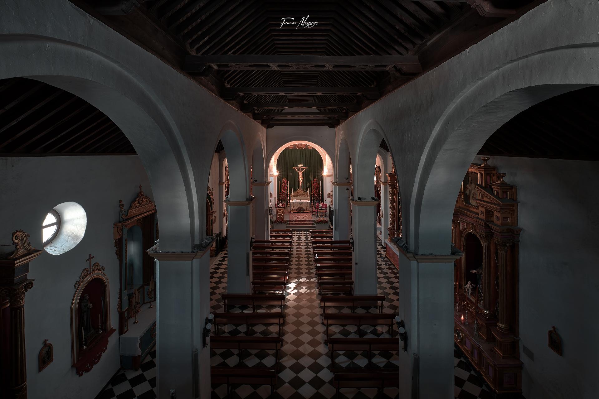 Stmo. Cristo de la Vera+Cruz en la Iglesia de Ntra. Señora de la Asunción